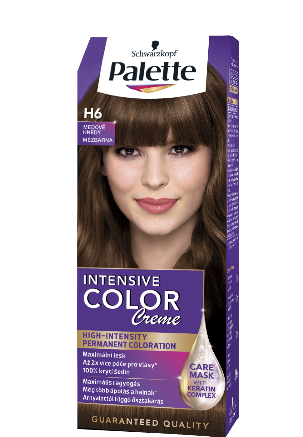 Intense Color Creme H6 - Mézbarna