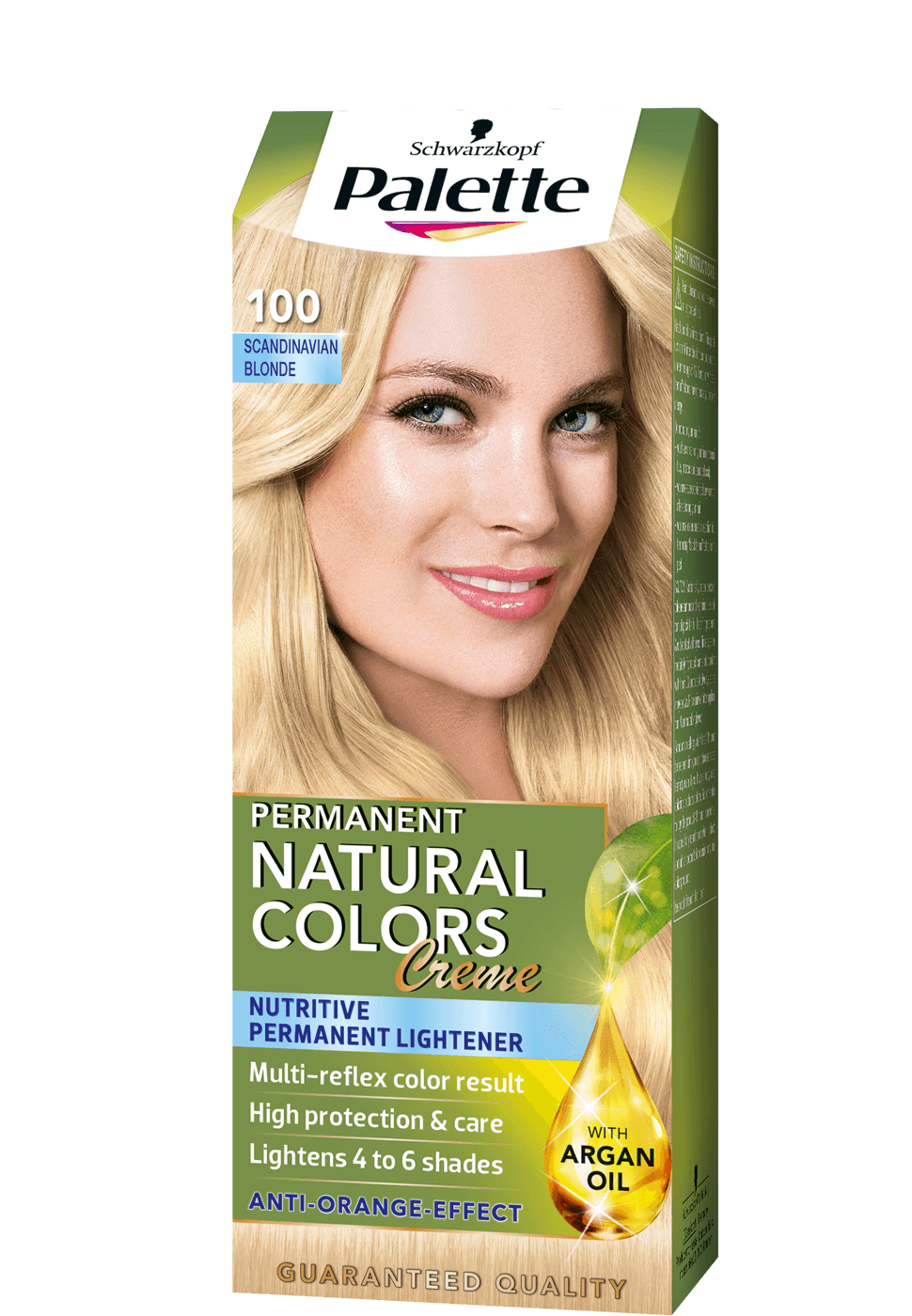 Permanent Natural Colors 100 - Skandinávszőke