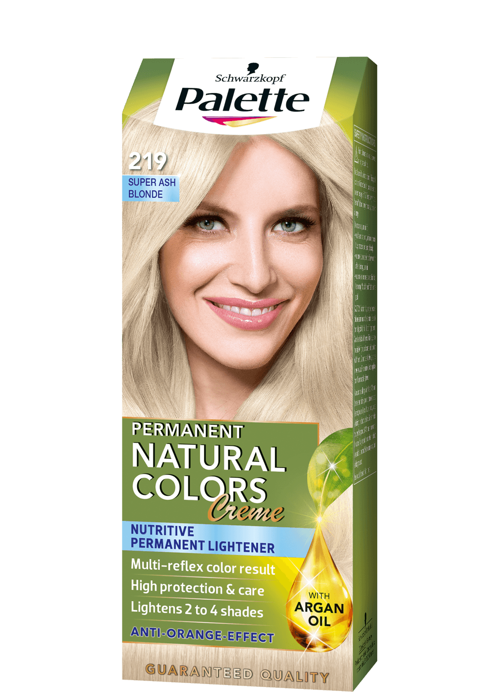 Permanent Natural Colors 219 - Szuper hamvasszőke