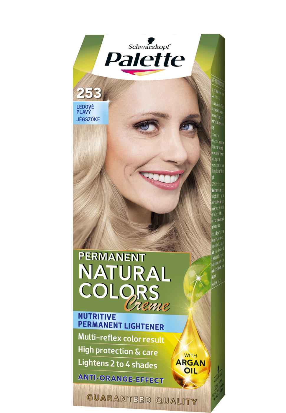 Permanent Natural Colors 253 - Jégszőke