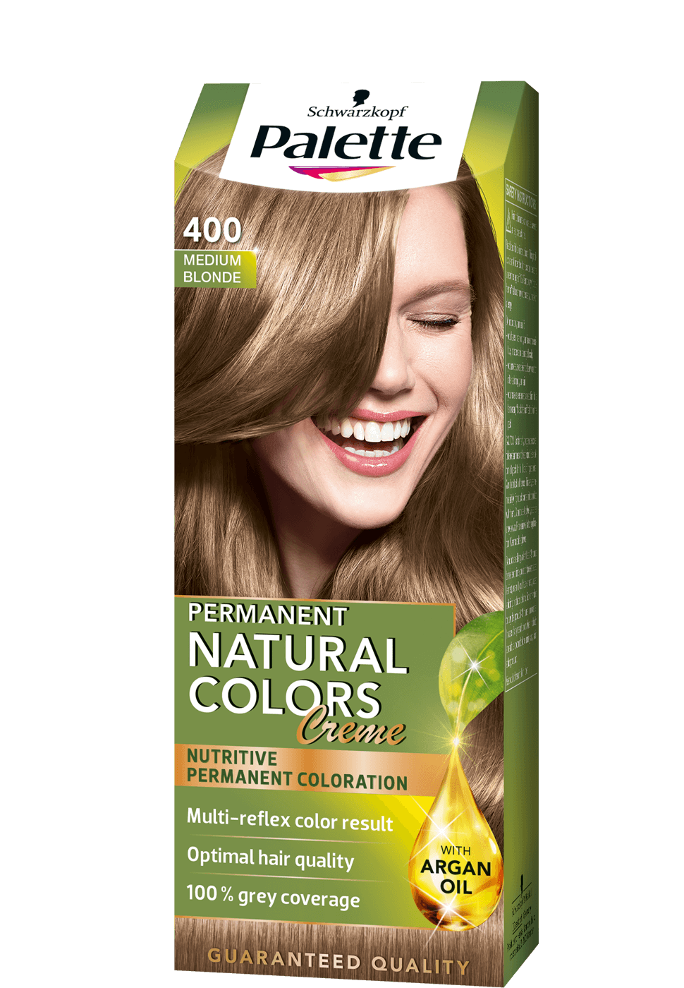 Permanent Natural Colors 400 - Középszőke
