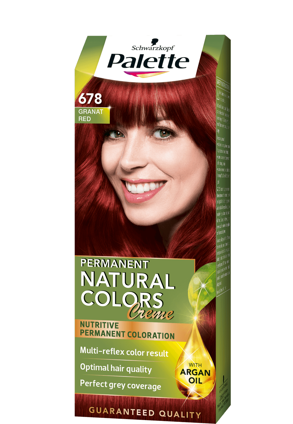 Permanent Natural Colors 678 - Gránát vörös