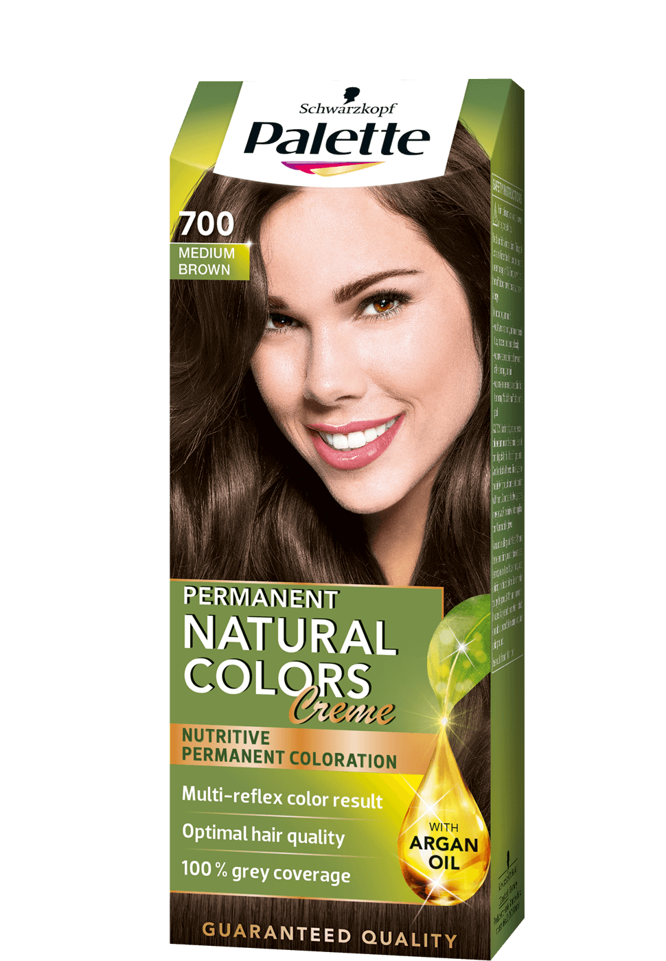 Permanent Natural Colors 700 - Középbarna