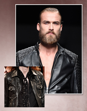 2015 Hairstyle Trends: Hairstyle plus Beard