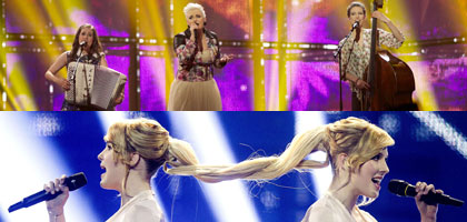 Frisuren Eurovision Song Contest 2014