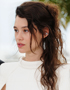 Updos for Summer Fun: Astrid Bergès-Frisbey
